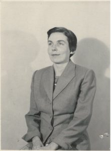 Marguerite in 1954. Did she know, then, what magic asks of us?